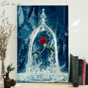 Tranh tô màu theo số Enchanted Rose
